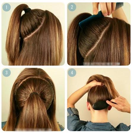 صور تسريحة سهلة للشعر الطويل , جددي وبيني جمال شعرك الطويل باسهل استايلات