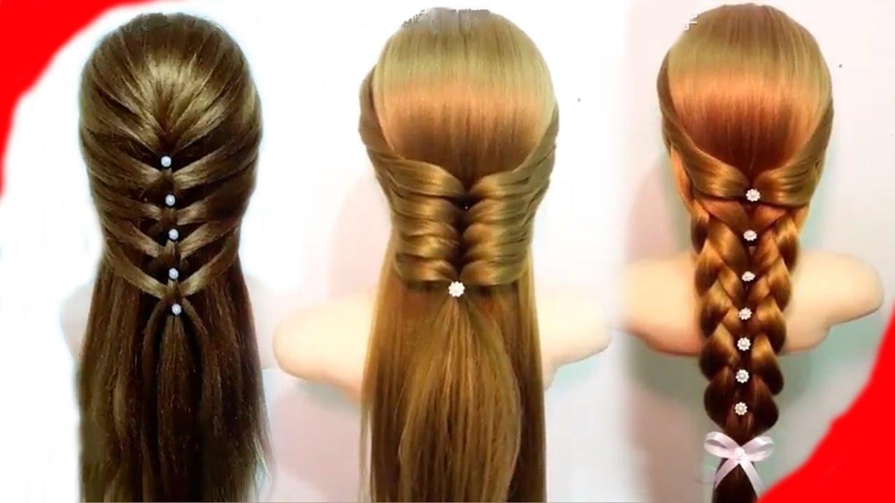 صورة تسريحة سهلة للشعر الطويل , جددي وبيني جمال شعرك الطويل باسهل استايلات 3615 2