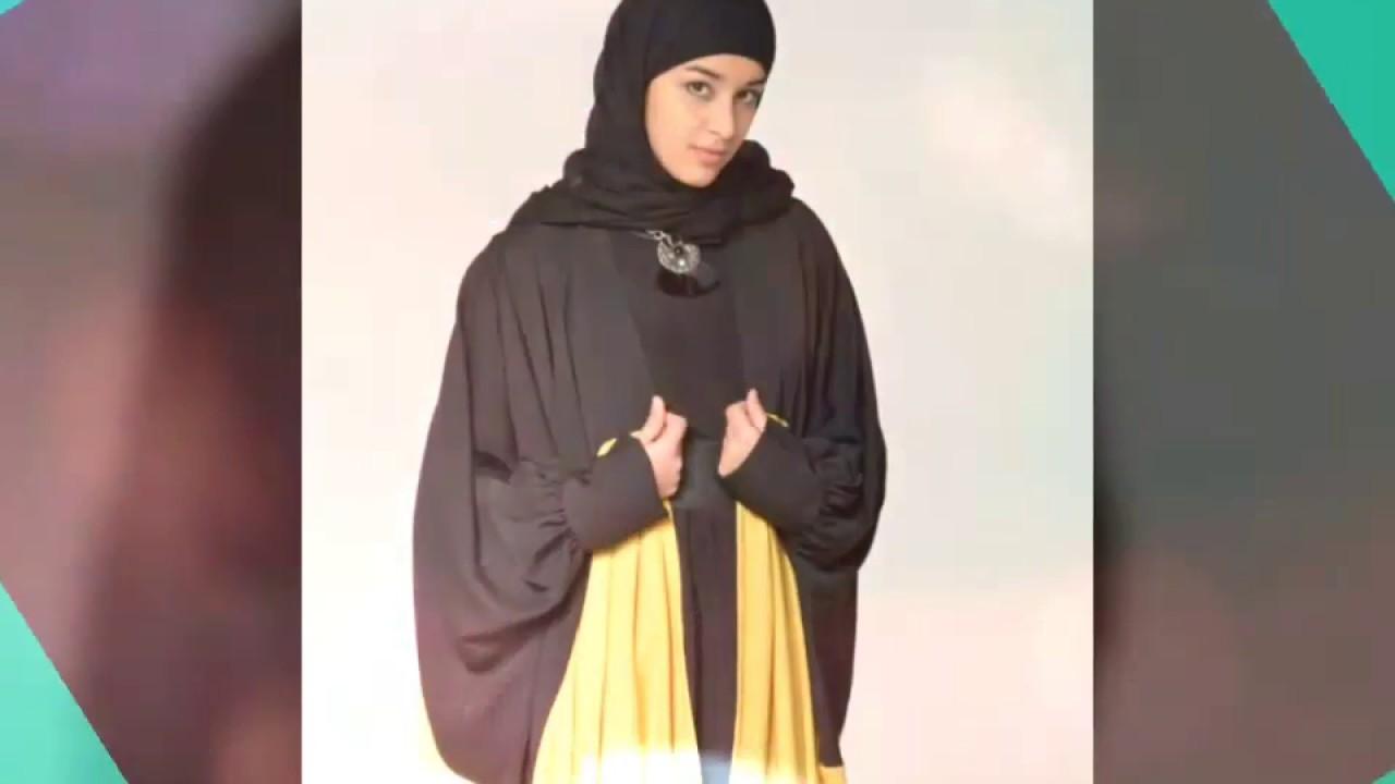 صورة موديلات جلابيب شرعية , اشيك استايلات عبايات اسلامية محتشمة