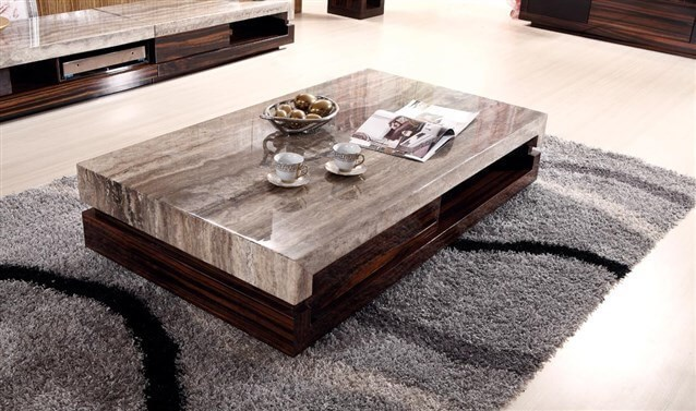 صور طاولات خشبية للصالون , اشكال ولا اجمل لترابيذات الصالونات والانتريهات