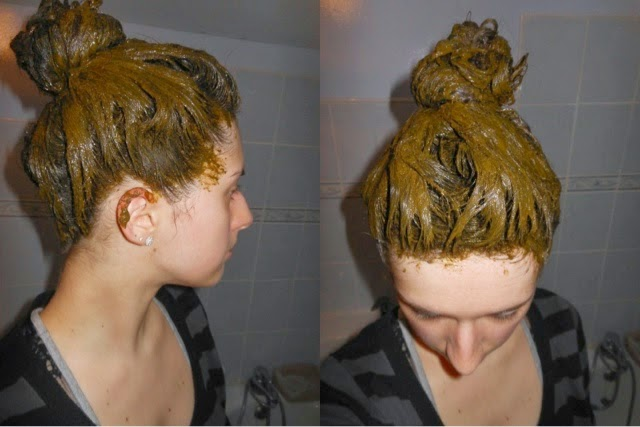 صورة خلطة حناء لتكثيف الشعر مجربه , خلطة طبيعية لشعر غزير ناعم جذاب