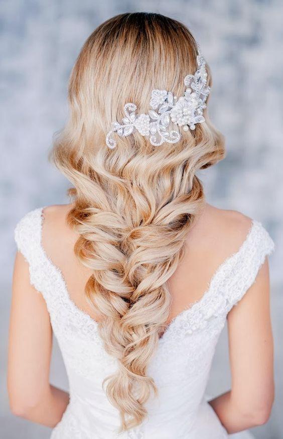 صورة تسريحات عصرية للعروس , اجدد القصات واشيك تسريحات شعر