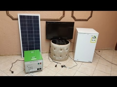 صورة كم لوح شمسي لتشغيل ثلاجة , فكر وشغل مخك احتياجات التلاجة لعدد لوح شمسي
