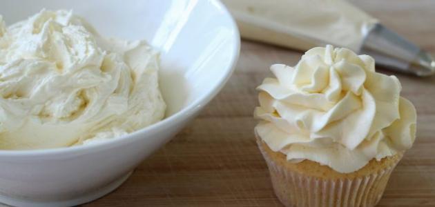 صورة طريقة عمل كريمة الزبدة , كيفية تحضير كريمة الزبدة الشهية