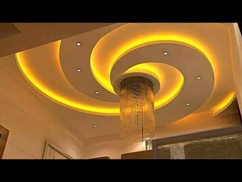 صورة جبسيات اسقف صالات , تصميمات خطيرة من الجبس لغرف الاستقبال