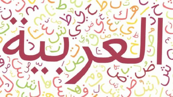 صورة عبارة عن اللغة العربية , جمل بسيطة عن روعة العربي