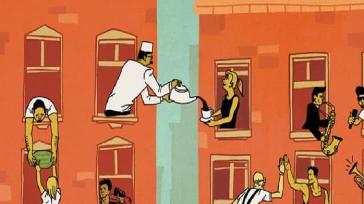 صورة موضوع تعبير عن الجار , مقدمة طويلة وشاملة عن اهمية الجيران