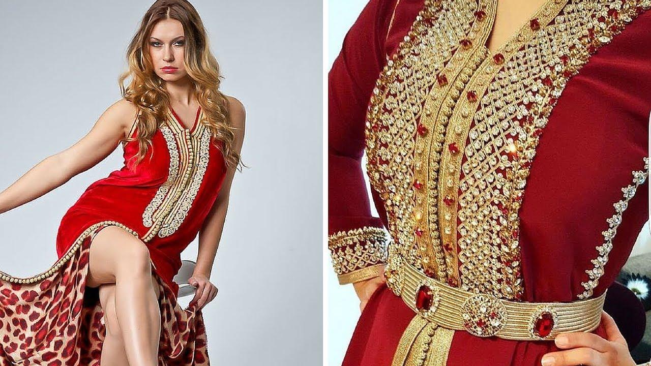 صورة ملابس الاعراس الجزائرية , استايلات لباس عرايس جزائري روعة في الجمال