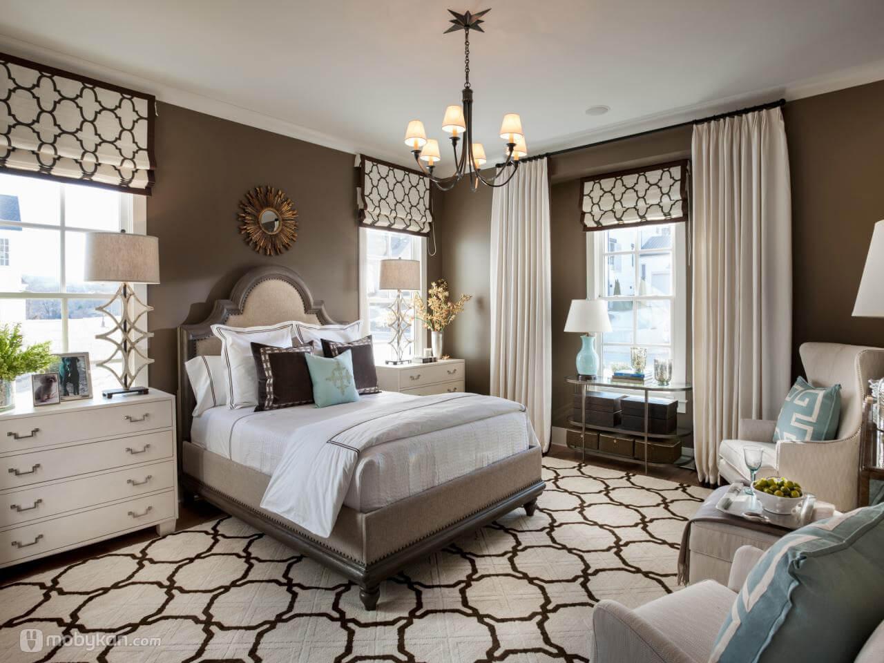 صورة غرف نوم الوان , الوان رائعه لغرف النوم