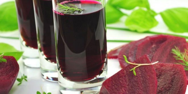 صور طريقة عمل عصير الشمندر بالصور , تخلصي من الانيميا بكوباية عصير البنجر