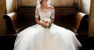 صور حلمت اني لابسه فستان ابيض وانا عزباء , منام العروس العزباء الجميلة بالفستان الابيض
