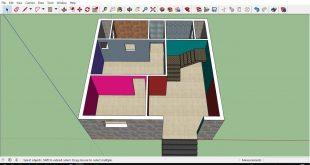 صورة تصميم منزل 80 متر مربع , تصميم انيق لمنزل صغير