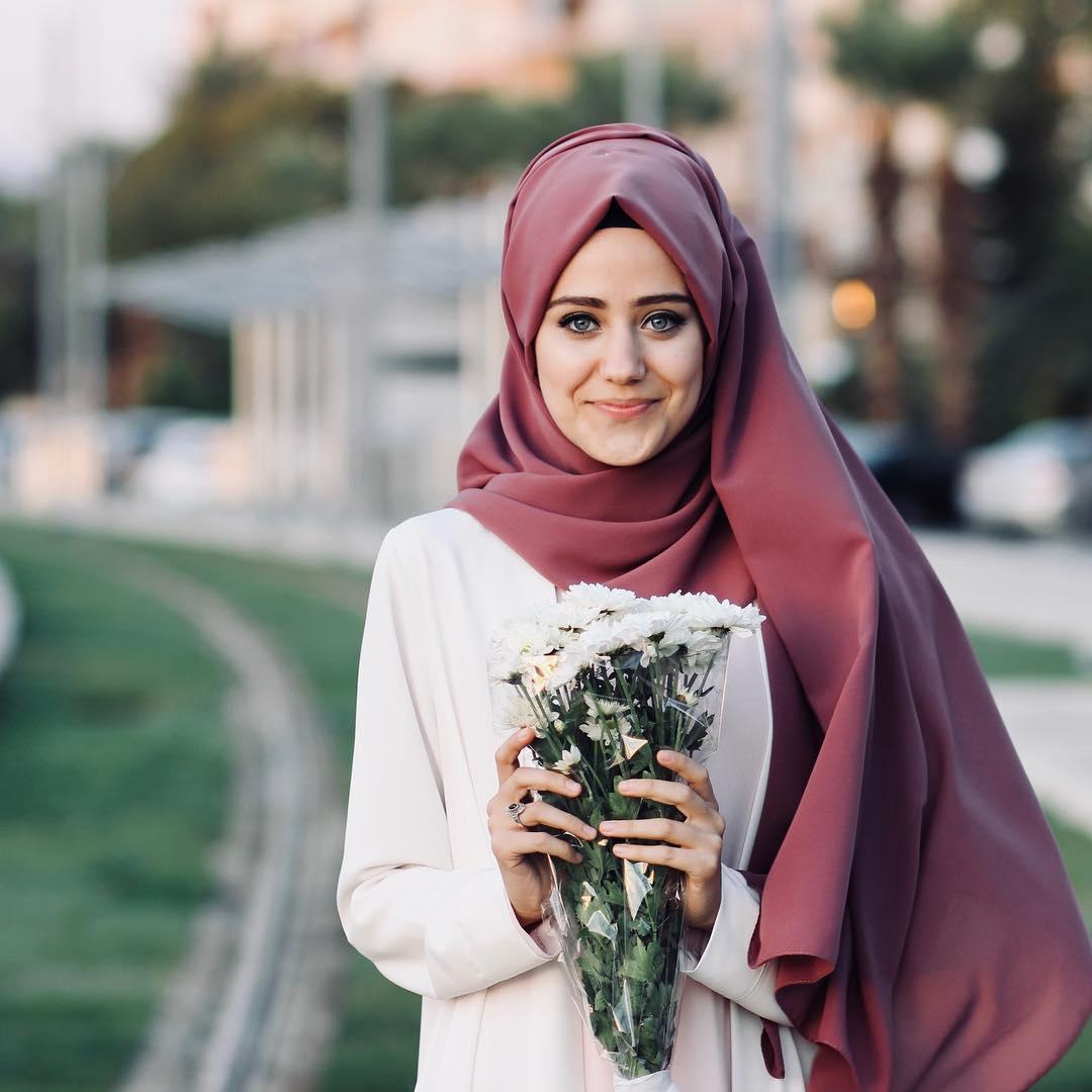 صورة بنات محجبات جميله , سر جمالك حجابك
