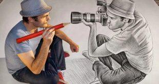 صورة صور رسومات رجال , الرسم فن لا يتقنه الجميع
