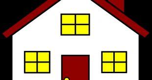 صور كيف ترسم بيت , طريقة رسم بيت في منتهى السهولة