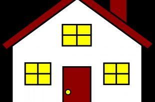 صورة كيف ترسم بيت , طريقة رسم بيت في منتهى السهولة