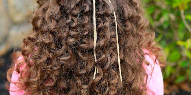 صورة تسريحات بسيطه للشعر المجعد , استمتعى بجمال شعرك الكيرلي