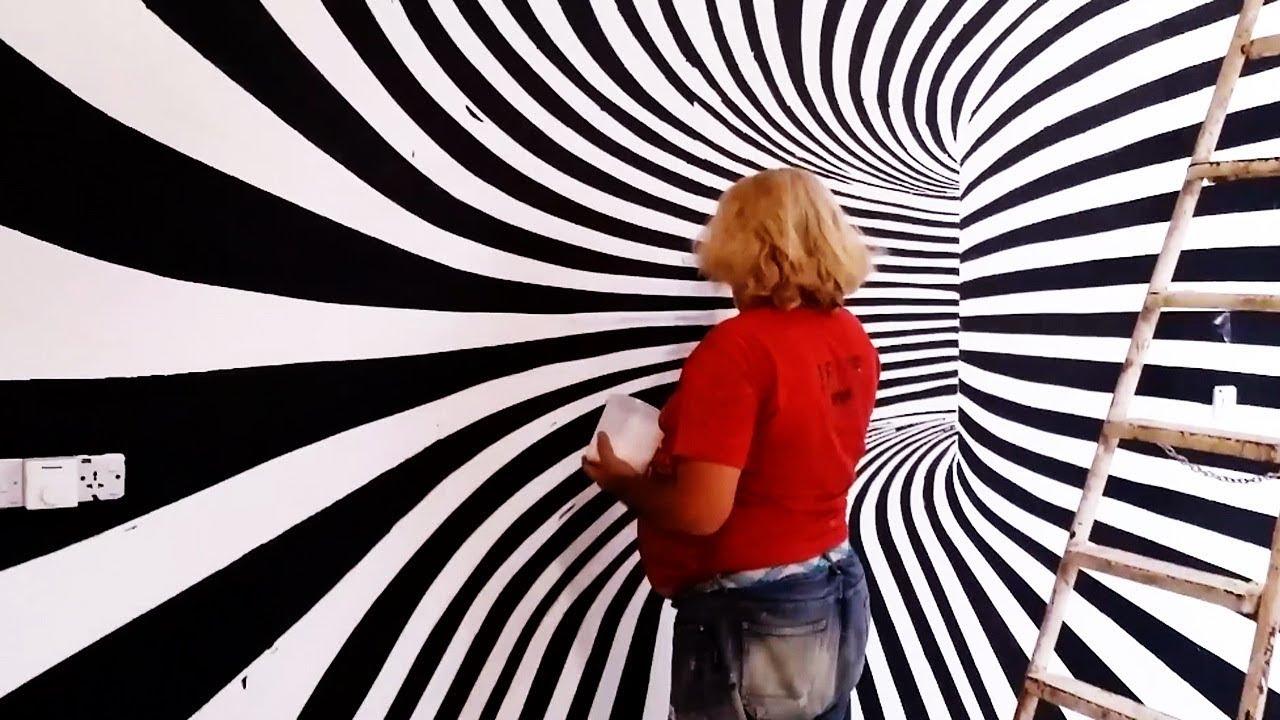 صورة طرق الرسم على الحائط , طريقة الفن الجرافيتي بالتفصيل