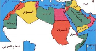 صورة صور خريطة الوطن العربي , خرايط مفصله للوطن العربى