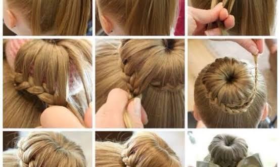 صورة تسريحات سهله للاطفال , احدث تسريحات شعر مميزة للصغار