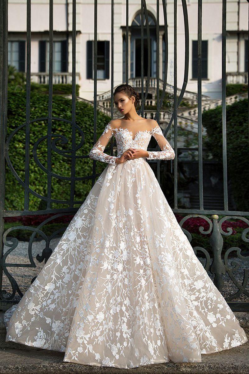صورة احلى فستان عرس , اختاري فستان يجعلك تبدين كالاميرات 3405 2