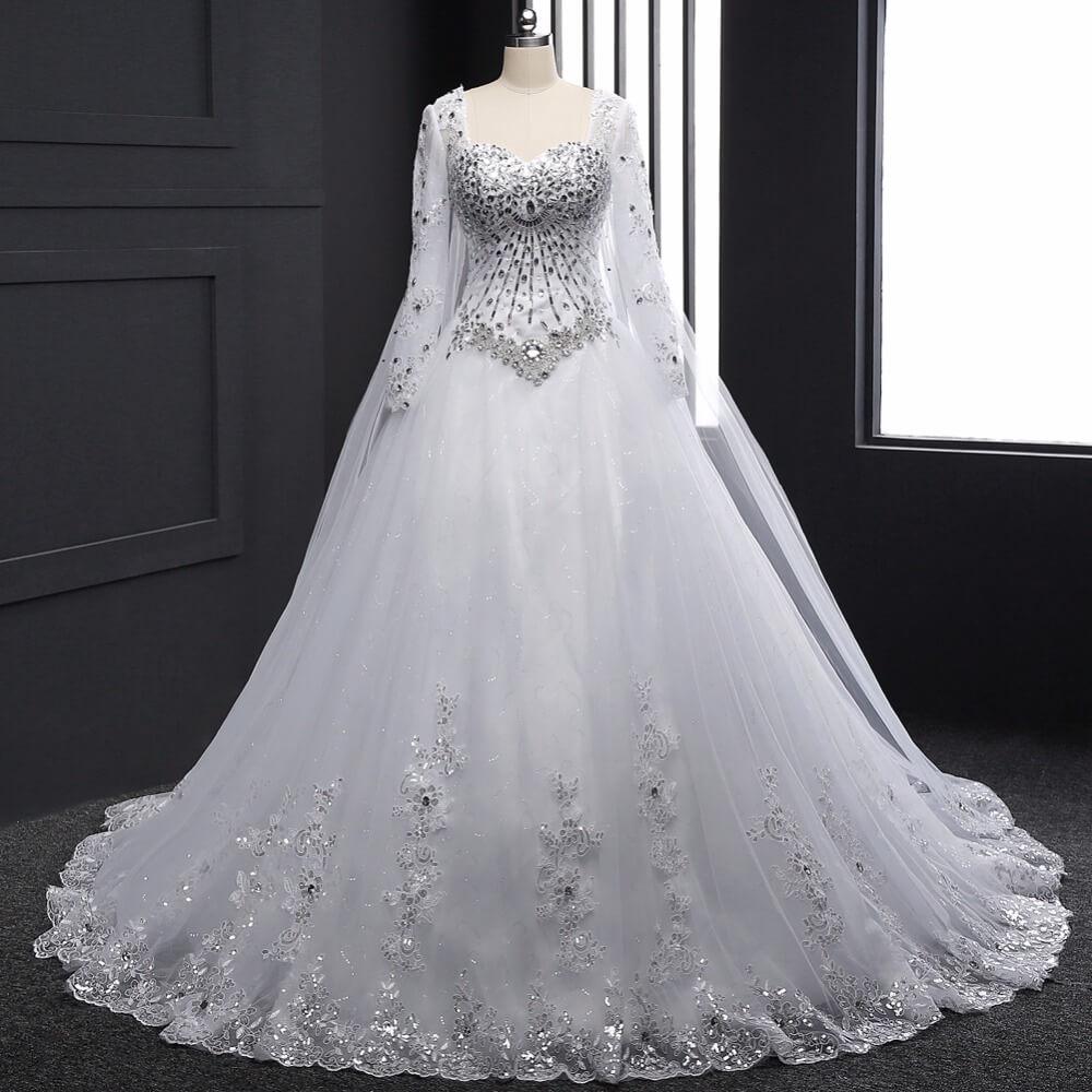 صورة احلى فستان عرس , اختاري فستان يجعلك تبدين كالاميرات 3405 6