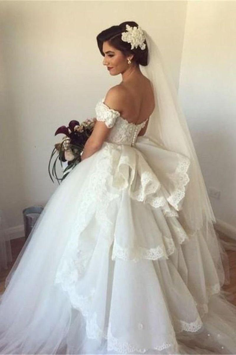 صورة احلى فستان عرس , اختاري فستان يجعلك تبدين كالاميرات 3405 7