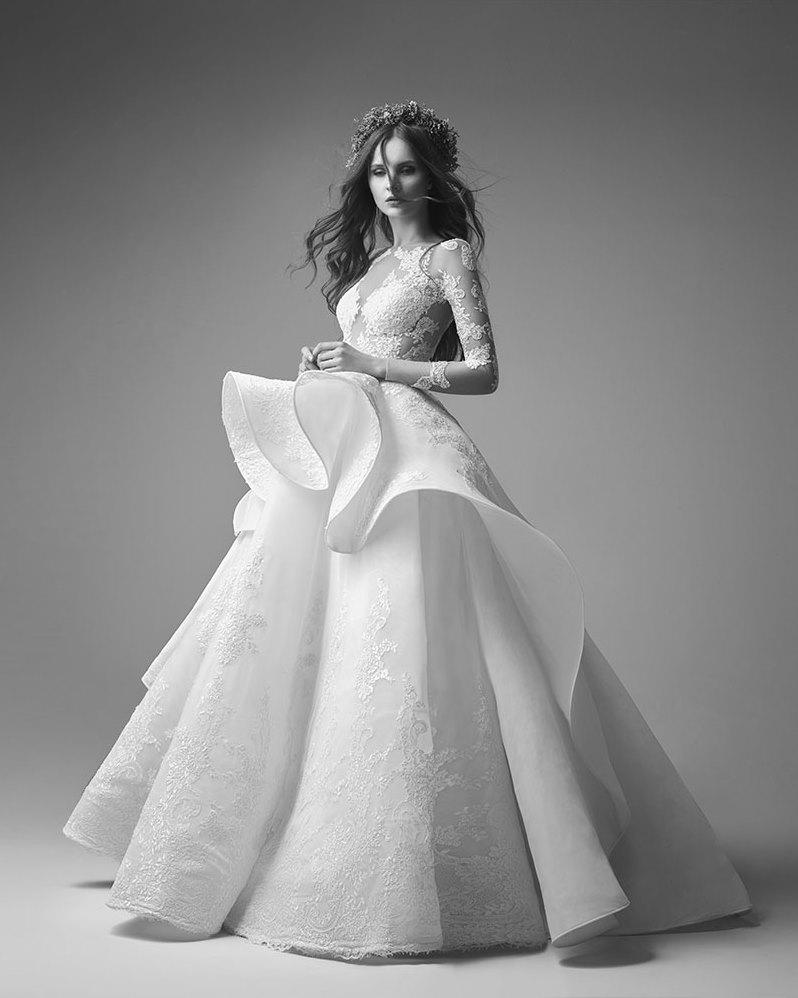صورة احلى فستان عرس , اختاري فستان يجعلك تبدين كالاميرات 3405 8