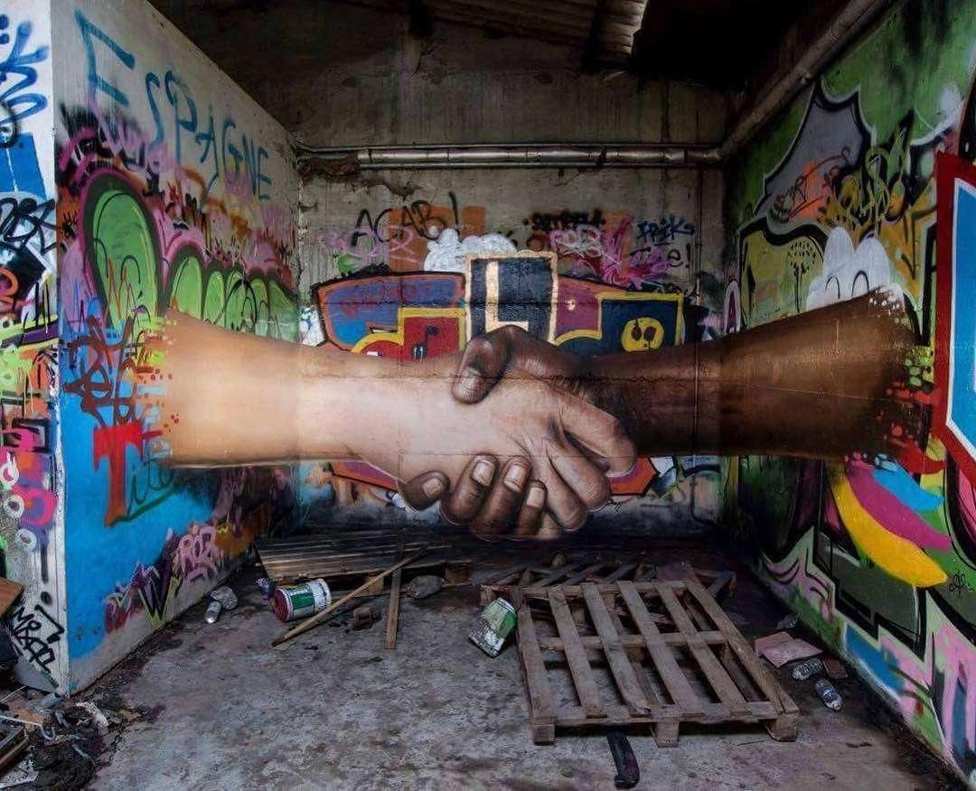 صور رسم على الحيطان , الفن الجرافيتى