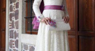 صورة سواريه محجبات 2019 , اشيك موديلات الفساتين