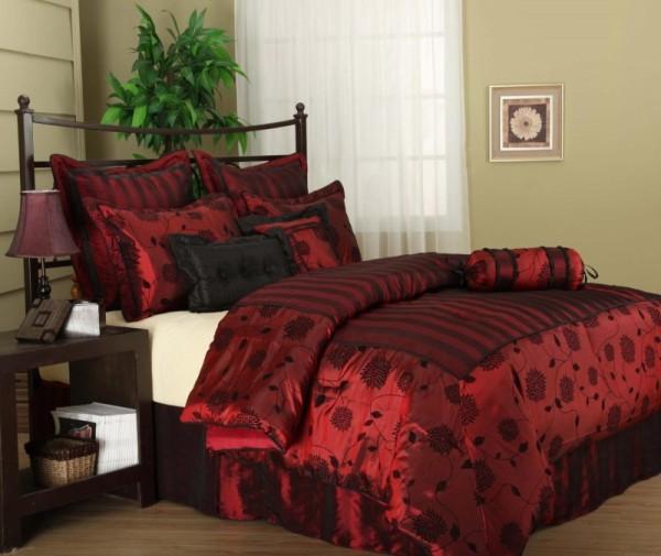 صورة مفارش غرف نوم رومانسية , رومانسية يعني المفارش التركية