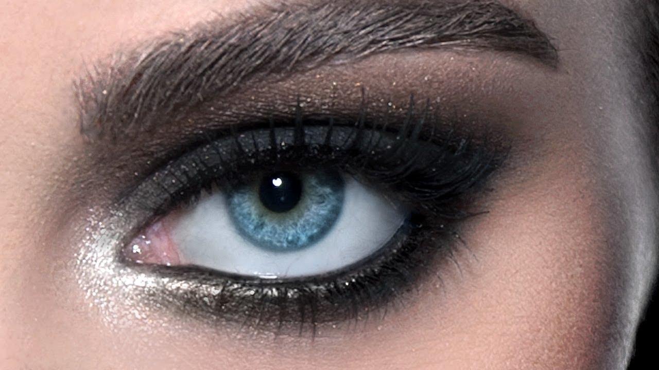 صورة مكياج للعيون المبطنة , تالقي بمكياج جذاب للعيون المبطنه