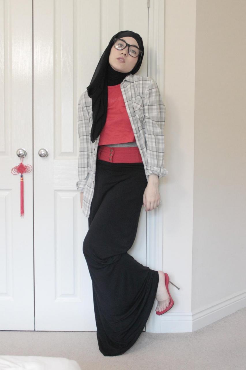 صورة ملابس كاجوال للبنات المحجبات , اجدد الملابس للمحجبات 1121 4