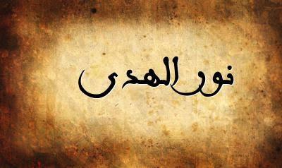 صورة اسم نور الهدى , اعرف معني اسم نور الهدي