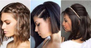 صورة شدات الشعر القصير , تسريحات جديدة رائعة