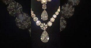 صورة طقم الماس ناعم , طقم الماس للعروسة