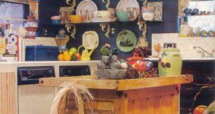 صورة افكار لتزيين المطبخ , زينة المطبخ من زينة الزوجة