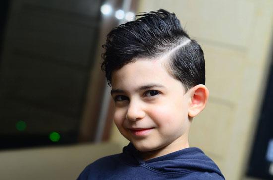 صورة قصات شعر اطفال , احدث قصات للاطفال ٢٠١٩