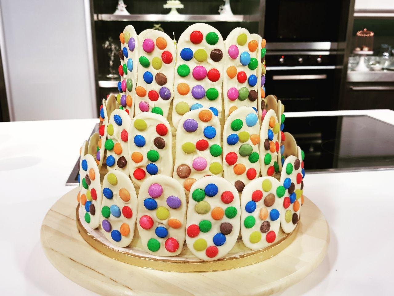 صورة طريقة عمل تورتة عيد الميلاد للاطفال , اصنعى السعاده لطفلك س