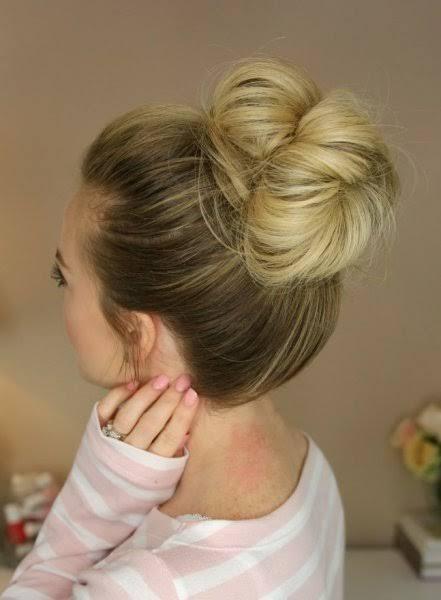 صورة طريقة ربط الشعر , اسهل طرق ربط الشعر للبنات 328 2