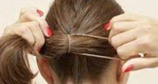 طريقة ربط الشعر , اسهل طرق ربط الشعر للبنات
