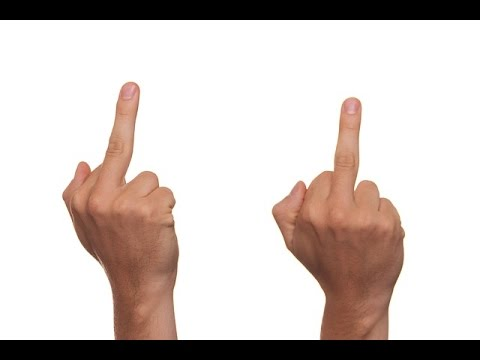 صورة لماذا رفع الاصبع الوسطى عيب , سبب اعتبار هذه الحركة عيب و غلط