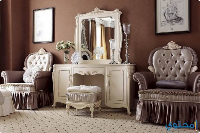 صورة تسريحات غرف نوم كلاسيك , تصاميم ديكوريه رائعه لغرف النوم 512 8