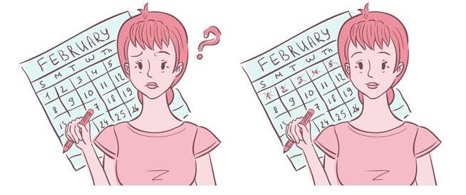 صورة اسباب تاخر الدورة الشهرية مع عدم وجود حمل , السر وراء تاخر الدوره الشهريه بدون حمل