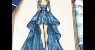 صورة رسم تصميم ملابس , تصاميم رائعه للملابس مميزة