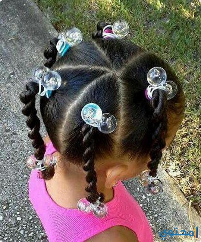 صورة تسريحات شعر خشن للبنات , تصاميم شعر رائعه لافضل بنات 676 4