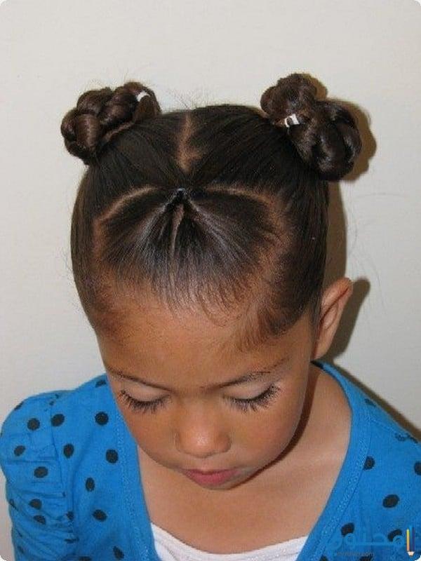 صورة تسريحات شعر خشن للبنات , تصاميم شعر رائعه لافضل بنات 676