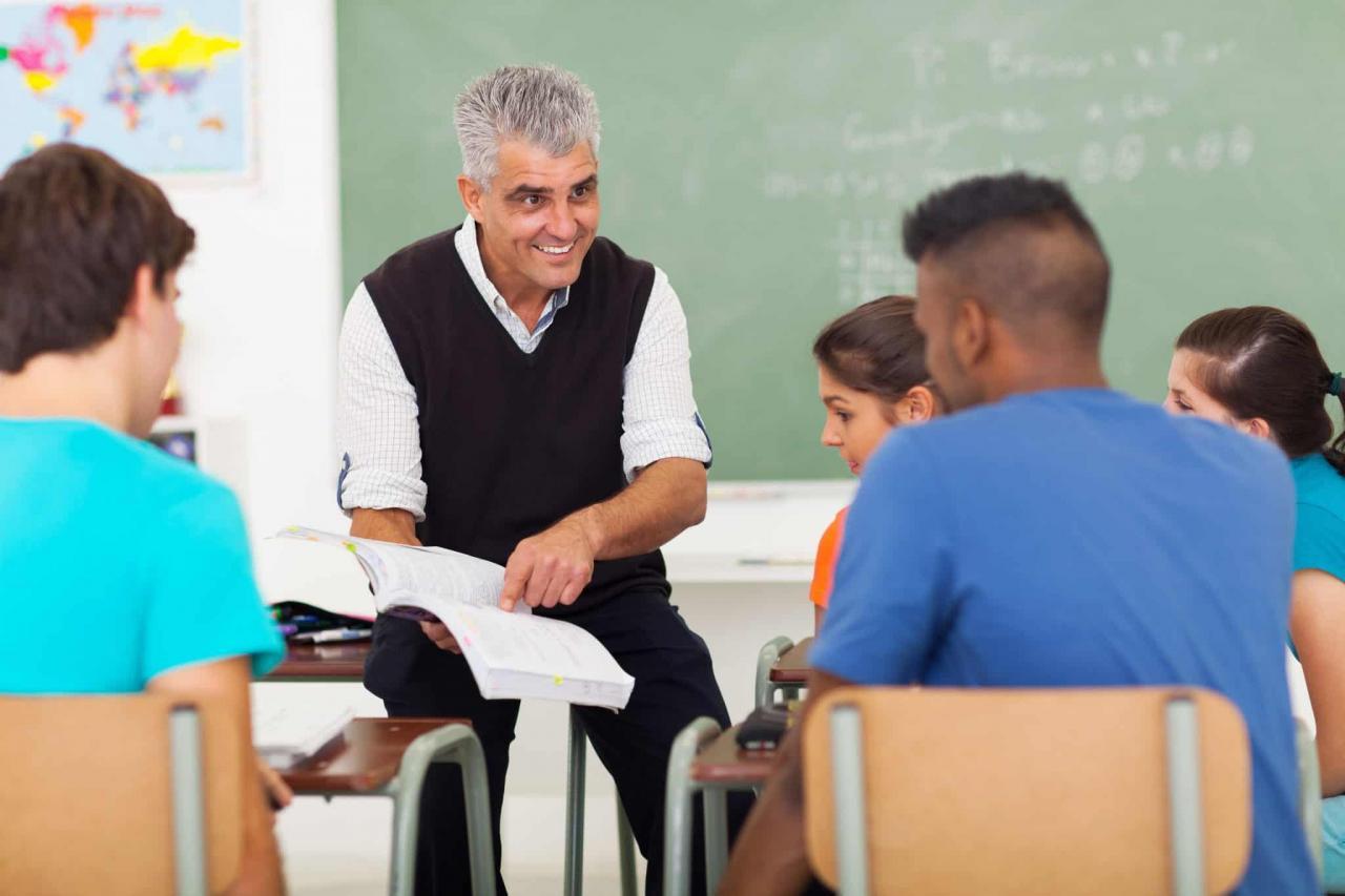 صورة موضوع عن المعلم , صفات المعلم الجيد