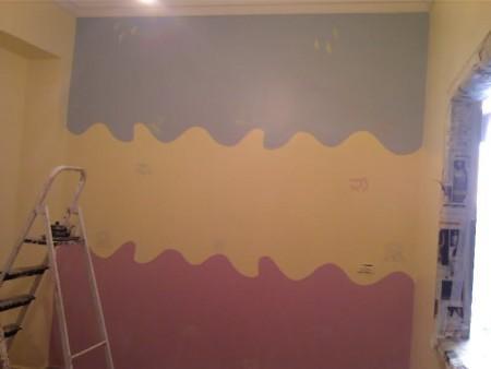 صورة الوان حوائط حديثة , دهانات مميزة للجدران