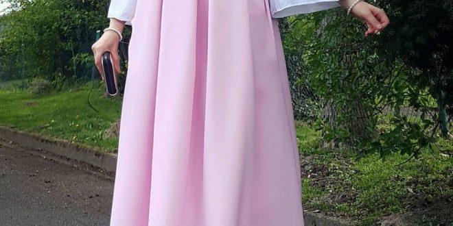 صورة ملابس جميلة للمحجبات , اجمل الازياء للسيدات المحجبات